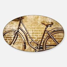 romantic street vintage bike Decal