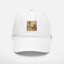 romantic street vintage bike Baseball Baseball Cap