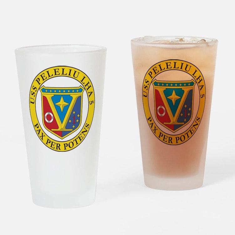 USS Peleliu LHA-5 Drinking Glass