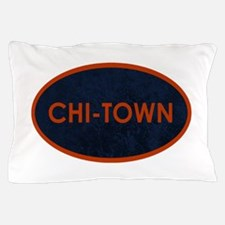 CHI TOWN Blue Stone Pillow Case