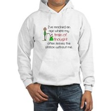 SENIOR MOMENTS - TRAIN OF THOUGH Hoodie