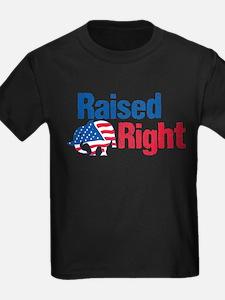 Raised Right T