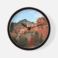Red Canyon, Utah, USA 2 Wall Clock