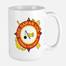 Uss Saipan Lha-2 Mugs