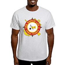 USS Saipan LHA-2 T-Shirt