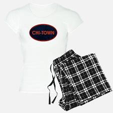 CHI TOWN Blue Stone Pajamas