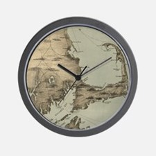 Vintage Map of Cape Cod (1885) Wall Clock