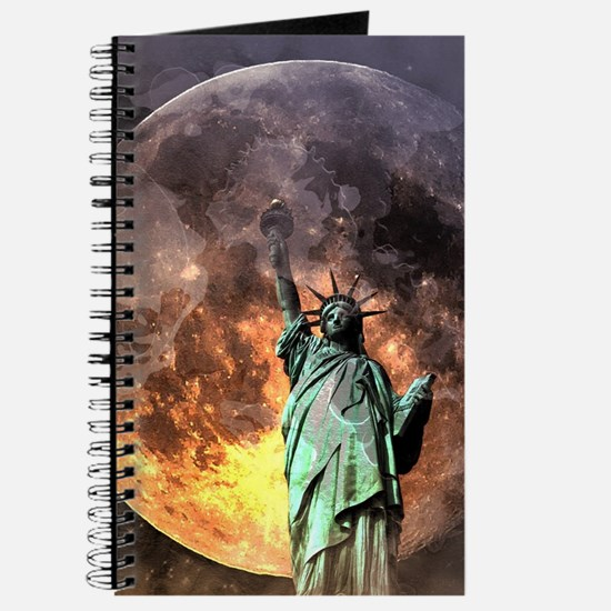 Liberty at moonlight Journal
