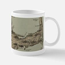 Vintage Map of Cape Cod (1885) Mugs