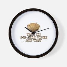 Cute Tater Wall Clock