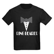 Ringbearer Mock Tuxedo T-Shirt