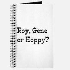 roy gene hoppy Journal