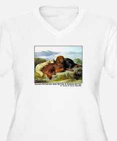 GOLDEN RETRIEVER, IRISH & GORDON T-Shirt