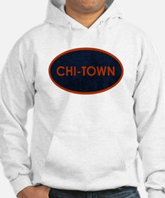 CHI TOWN Blue Stone Hoodie