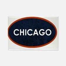 Chicago White Blue Stone Magnets