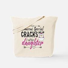 Daughter Penguin Tote Bag