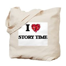 I love Story Time Tote Bag