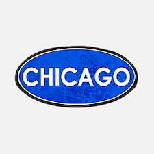 Chicago Light Blue Stone Patch