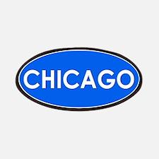 Chicago Light Blue Simple Patch