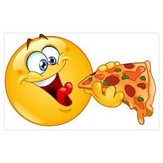 pizza emoji Poster
