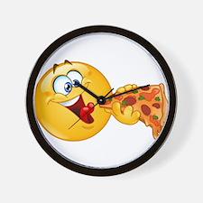 pizza emoji Wall Clock