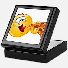 pizza emoji Keepsake Box
