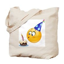 birthday emoji Tote Bag