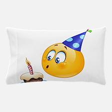 birthday emoji Pillow Case