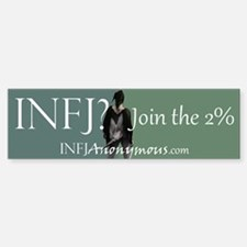 Infj Anonymous 2% Bumper Bumper Bumper Sticker