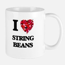 I love String Beans Mugs