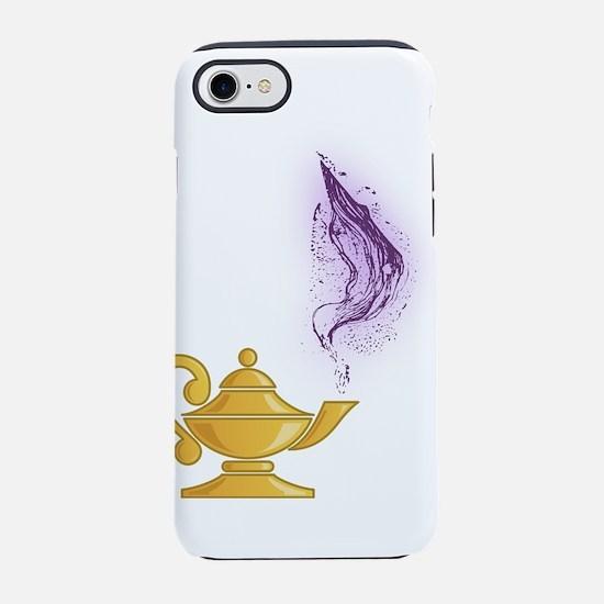 Golden Genie Lamp iPhone 8/7 Tough Case
