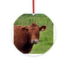 Cow Boogers - Original Ornament (Round)