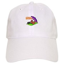 cool beans on the beach Baseball Cap
