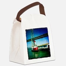 SF Fire Boat Canvas Lunch Bag