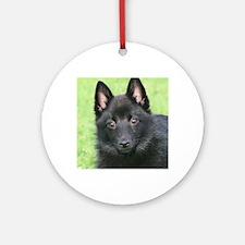 Puppy Love Round Ornament