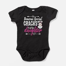 Daughter Penguin Baby Bodysuit