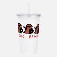 cool beans leather gan Acrylic Double-wall Tumbler