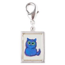 blue kitty Charms