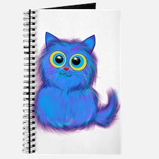 blue kitty Journal