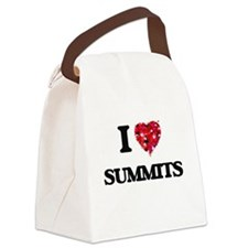I love Summits Canvas Lunch Bag