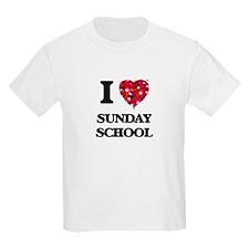 I love Sunday School T-Shirt