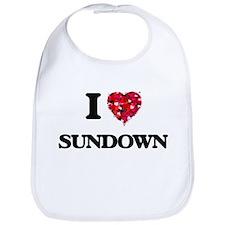 I love Sundown Bib