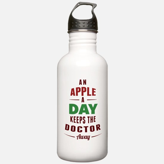 An Apple A Day... Water Bottle