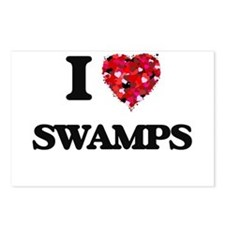 I love Swamps Postcards (Package of 8)