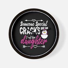 Daughter Penguin Wall Clock