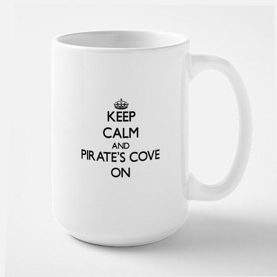 Keep calm and Pirate'S Cove Alabama ON Mugs