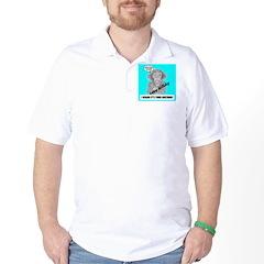 I HEARD IT'S YOUR BIRTHDAY Golf Shirt