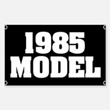 1985 Rectangle Decal