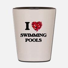 I love Swimming Pools Shot Glass
