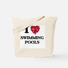 I love Swimming Pools Tote Bag